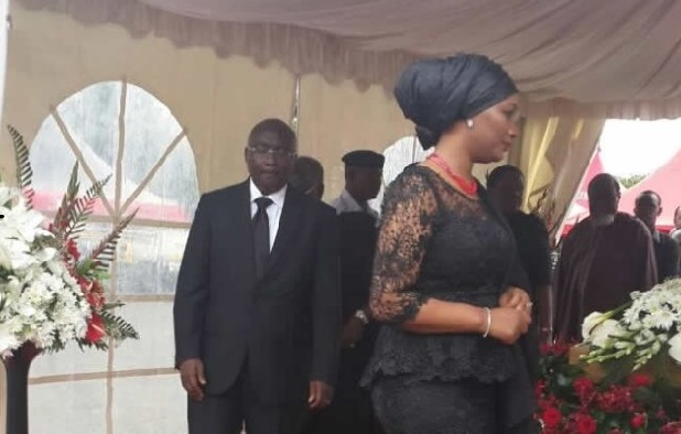 Bawumia and Wife Pay Their Last Respect