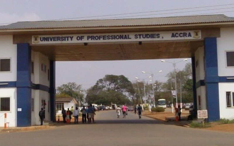Image result for UNIVERSITY OF PROFESSIONAL STUDIES, ACCRA""